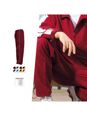 Bocini Unisex Track-Suit Pants With Piping