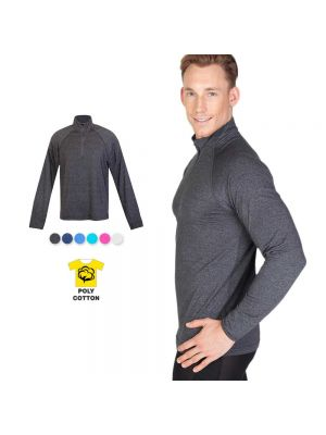 Ramo Mens Greatnes Half Zip Mock Neck