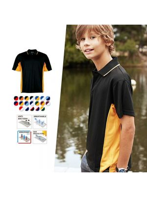Bocini Kids Breezeway Panel Polo