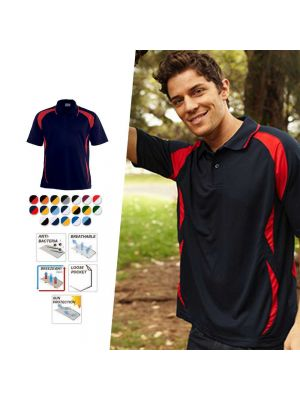 Bocini Unisex Breezeway Sports Polo