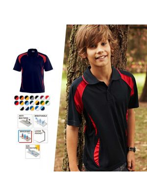 Bocini Kids Breezeway Sports Polo