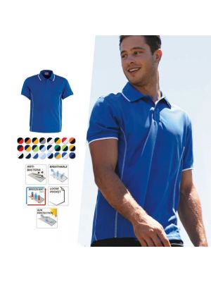 Bocini Men's S/S Stitch Essentials Polo