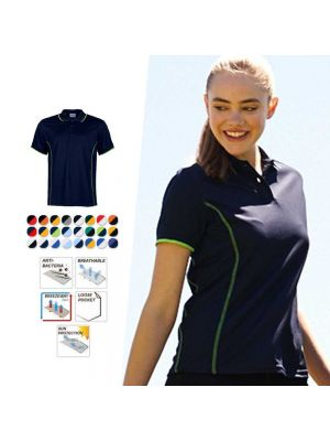 Bocini Ladies S/S Stitch Essentials Polo