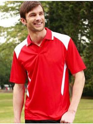 Bocini Unisex Adults Breezeway Polo with Honey Comb