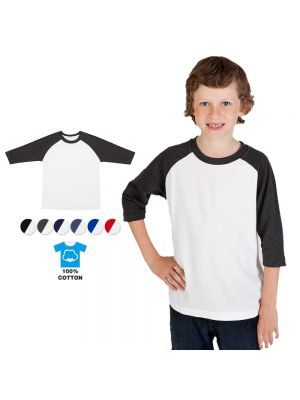 Ramo Kids 3/4 Raglan Sleeve T- Shirt