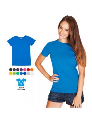 Ramo Ladies 100% Cotton Modern Fit Tee