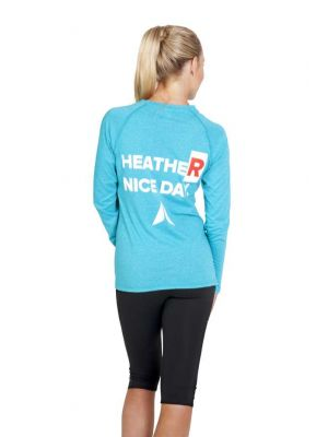 Ramo Ladies Greatness Heather Long Sleeve Tee