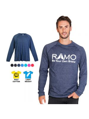 Ramo Mens Greatness Heather Long Sleeve Tee