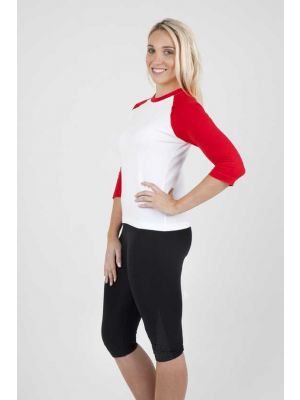 Ramo Ladies 3/4 Raglan Sleeve T- Shirt
