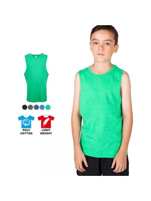 Ramo Kids Heather Sleeveless Tee
