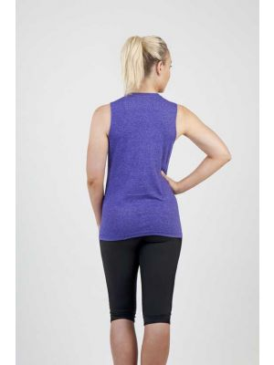Ramo Ladies Heather Sleeveless Tee - Greatness Range