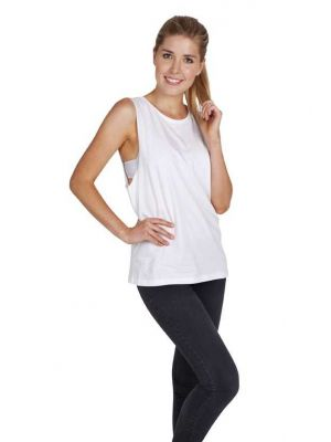 Ramo Ladies 160gsm 100% Combed Cotton Sleeveless Tee