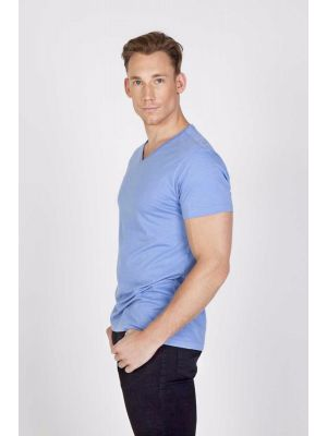 Ramo Mens Marl V-Neck T-Shirt
