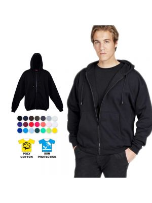 Ramo Mens Full Zip Hoodies with Pocket