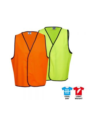 BlueWhale Hi Vis Safety Vest Day Only