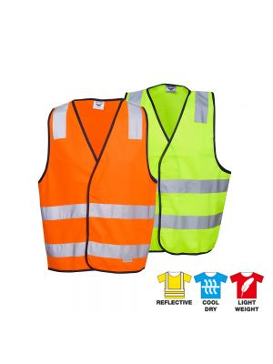 Blue Whale Hi Vis Safety Vest H-Pattern D/N