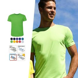 Men/'s Breezeway Brushed Double Jersey Tee Shirt Top with Anti Baterial Treatment