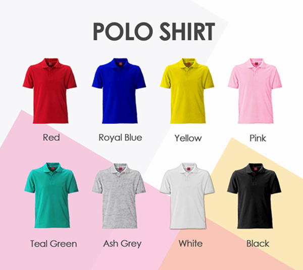 5 Types of Polo Shirts