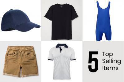 Here Are 5 Top Selling Items for Summer