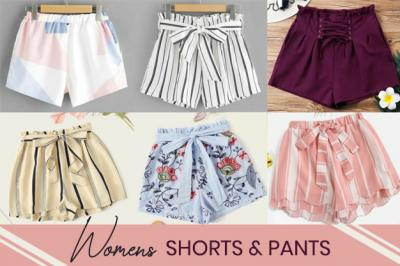 Promoting Active Womenswear with Shorts and Pants